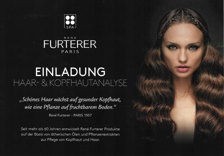 Einladung Haar- Und Kopfhautanalyse