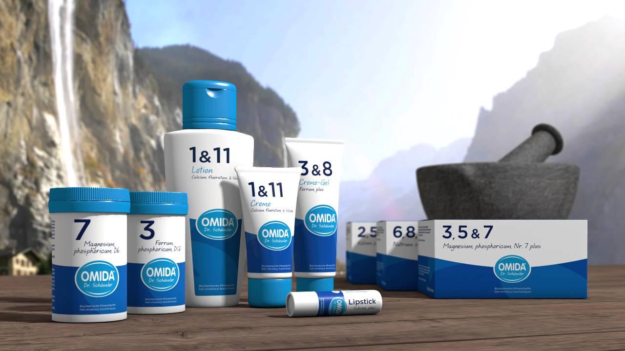 Lieblingsprodukt Im Monat Juli: Omida Schüssler Salz Nr. 3+8 Gel