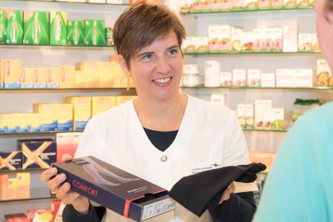 Dienstleistung Im September: Bandagen